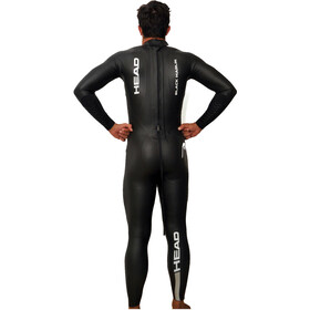 Head Black Marlin 4.3. 1,5 Tri Suit Herrer, black/silver